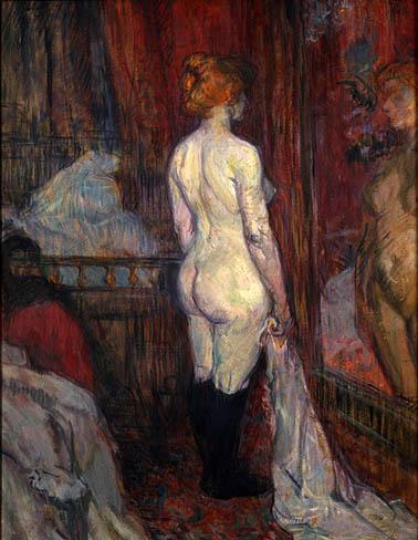 image: Henri de Toulouse-Latrec<br />poem: Bela Johnson