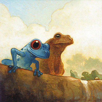 two-frogs